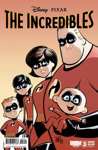 Cover Thumbnail for Incredibles: City of Incredibles (Boom! Studios, 2009 series) #3