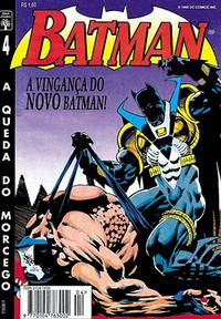 Cover for Batman (Editora Abril, 1995 series) #4