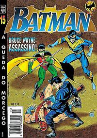 Cover Thumbnail for Batman (Editora Abril, 1995 series) #15