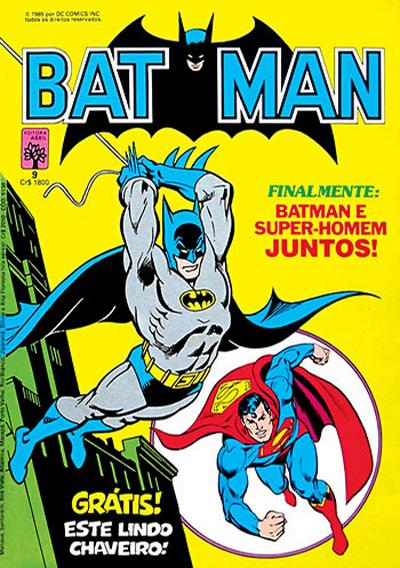 Cover for Batman (Editora Abril, 1984 series) #9