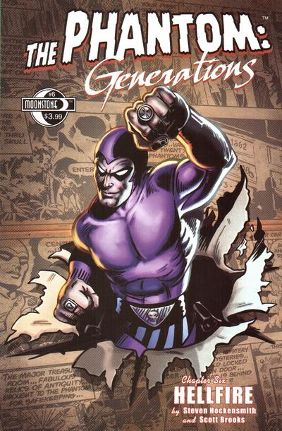 Cover for The Phantom: Generations (2009 series) #6