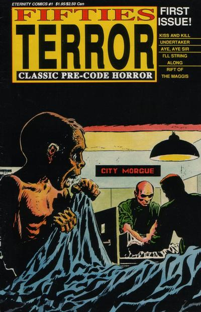 Cover for Fifties Terror (1988 series) #1