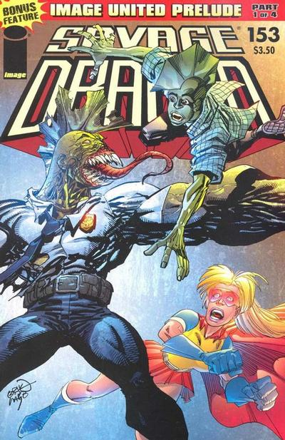 Cover for Savage Dragon (Image, 1993 series) #153
