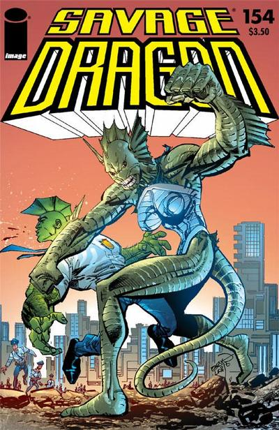 Cover for Savage Dragon (Image, 1993 series) #154