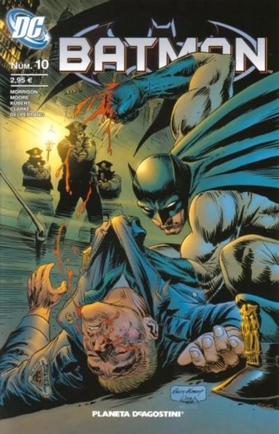 Cover for Batman (Planeta DeAgostini, 2007 series) #10