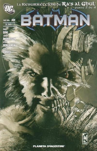 Cover for Batman (Planeta DeAgostini, 2007 series) #18