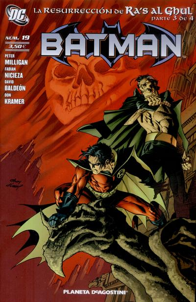 Cover for Batman (Planeta DeAgostini, 2007 series) #19