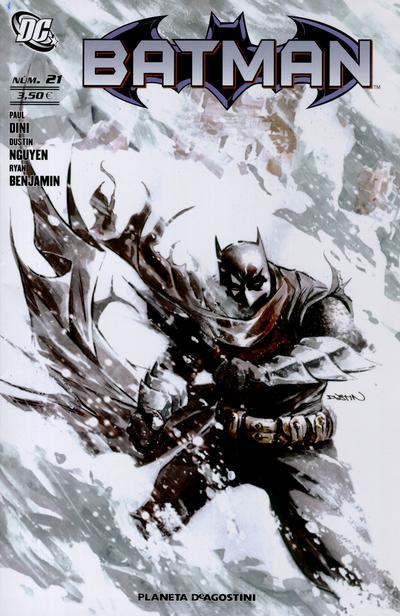 Cover for Batman (Planeta DeAgostini, 2007 series) #21