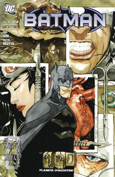 Cover for Batman (Planeta DeAgostini, 2007 series) #24