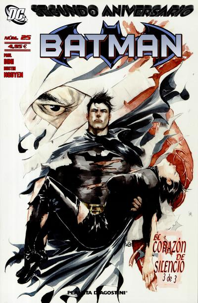 Cover for Batman (Planeta DeAgostini, 2007 series) #25