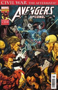 Cover Thumbnail for Avengers Unconquered (Panini UK, 2009 series) #8