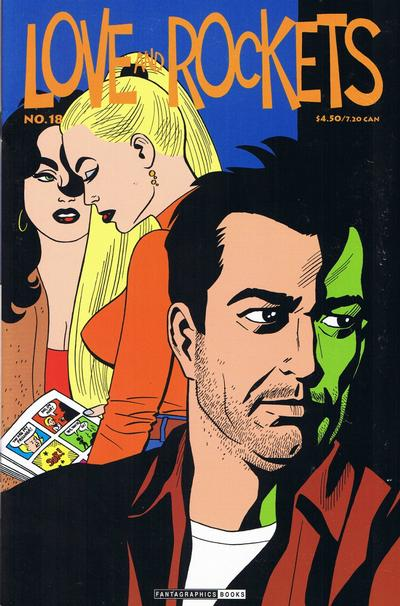 Cover for Love and Rockets (Fantagraphics, 2000 series) #18