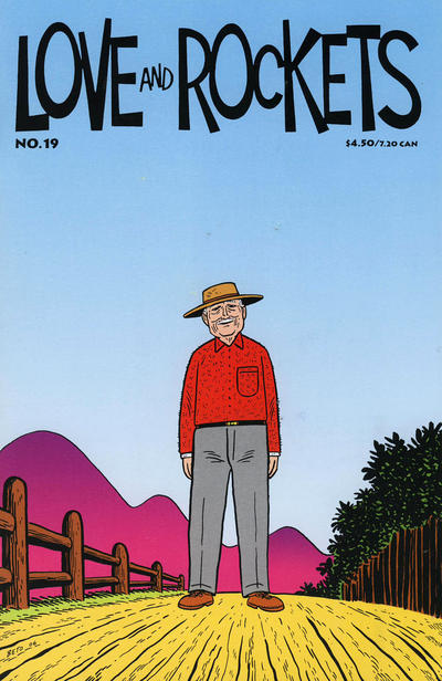 Cover for Love and Rockets (Fantagraphics, 2000 series) #19