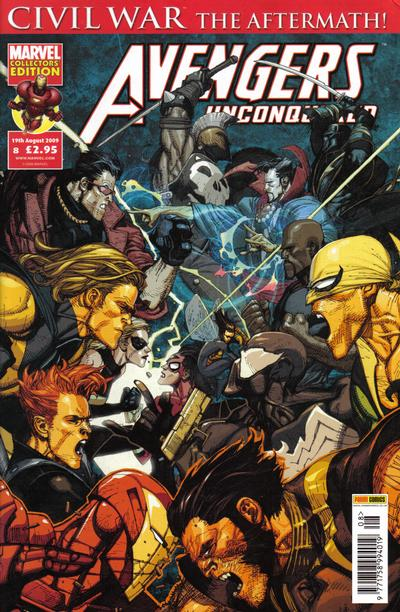 Cover for Avengers Unconquered (2009 series) #8