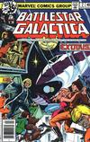 Cover for Battlestar Galactica (Marvel, 1979 series) #2 [Newsstand Edition]