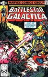 Cover for Battlestar Galactica (Marvel, 1979 series) #15 [Direct Edition]