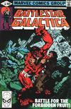 Cover for Battlestar Galactica (Marvel, 1979 series) #18