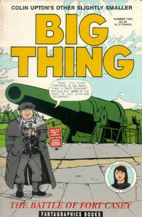 Cover Thumbnail for Colin Upton's Other Big Thing (Fantagraphics, 1991 series) #2