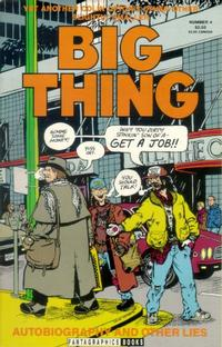 Cover Thumbnail for Colin Upton&#39;s Other Big Thing (Fantagraphics, 1991 series) #4