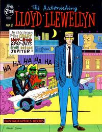 Cover Thumbnail for Lloyd Llewellyn (Fantagraphics, 1986 series) #3