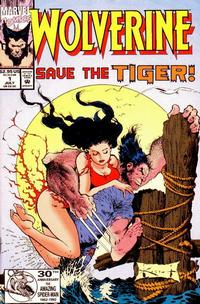 Cover Thumbnail for Wolverine: Save the Tiger (Marvel, 1992 series) #1