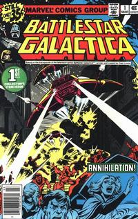 Cover Thumbnail for Battlestar Galactica (Marvel, 1979 series) #1 [Newsstand Edition]
