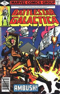 Cover Thumbnail for Battlestar Galactica (Marvel, 1979 series) #5