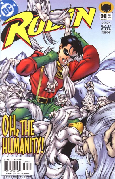 Cover for Robin (DC, 1993 series) #90