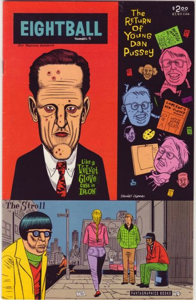 Cover for Eightball (Fantagraphics, 1989 series) #3 [2nd printing (2.50 cover price)]