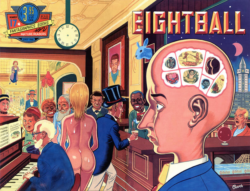 Cover for Eightball (Fantagraphics, 1989 series) #17