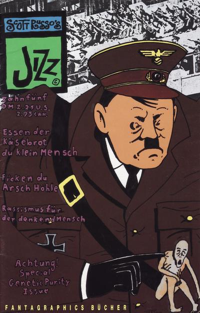 Cover for Jizz (Fantagraphics, 1991 series) #5