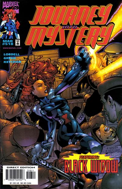 Cover for Journey into Mystery (Marvel, 1996 series) #518