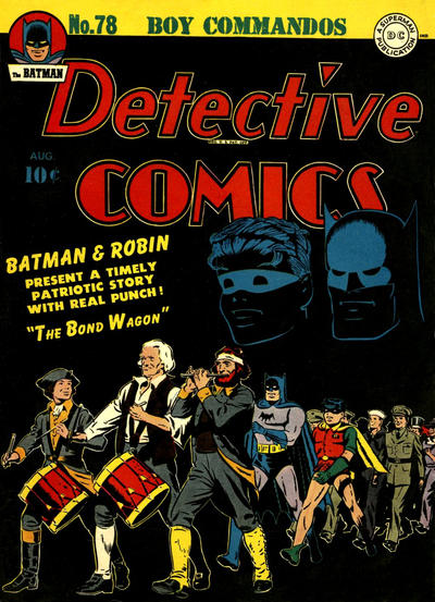 Cover for Detective Comics (1937 series) #78