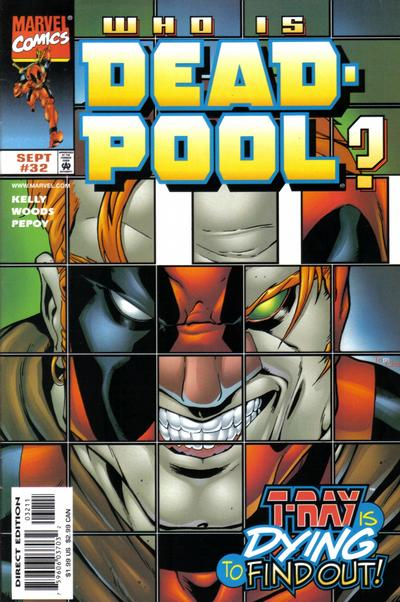 Cover for Deadpool (Marvel, 1997 series) #32 [Direct Edition]
