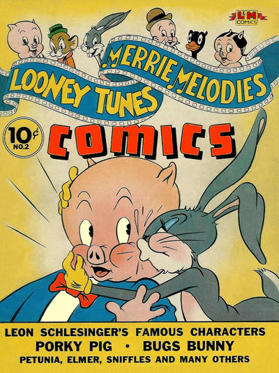 Cover for Looney Tunes and Merrie Melodies Comics (Dell, 1941 series) #2