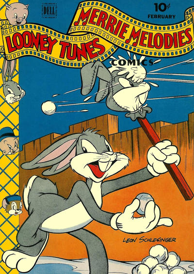Cover for Looney Tunes and Merrie Melodies Comics (Dell, 1941 series) #40
