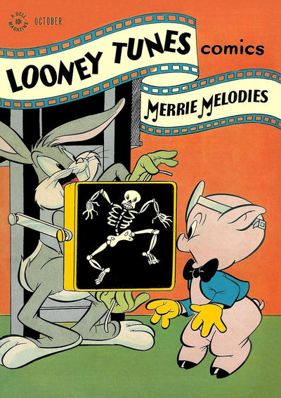 Cover for Looney Tunes and Merrie Melodies Comics (Dell, 1941 series) #72