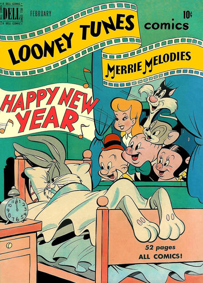 Cover for Looney Tunes and Merrie Melodies Comics (Dell, 1941 series) #100