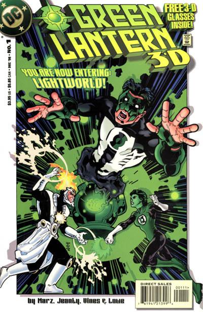 Cover for Green Lantern 3-D (DC, 1998 series) #1