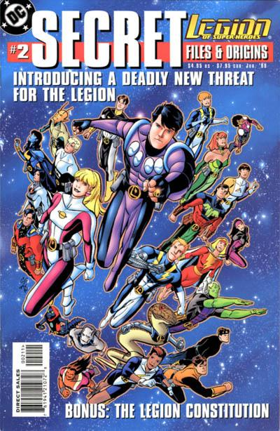 Cover for Legion of Super-Heroes Secret Files (1999 series) #2