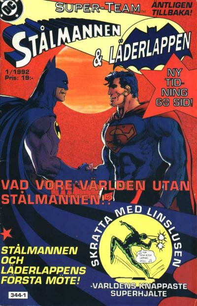 Cover for Super-Team (Epix, 1992 series) #1/1992
