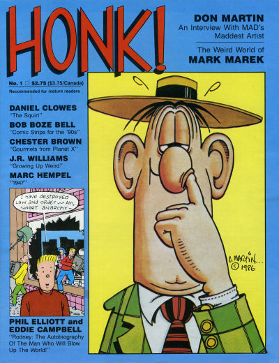 Cover for Honk! (1986 series) #1