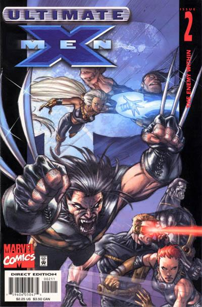 Cover for Ultimate X-Men (Marvel, 2001 series) #2