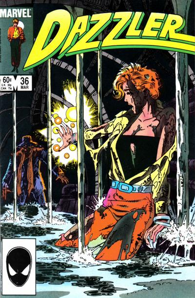 Cover for Dazzler (Marvel, 1981 series) #36