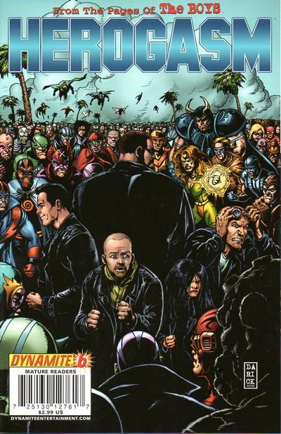 Cover for The Boys: Herogasm (Dynamite Entertainment, 2009 series) #6