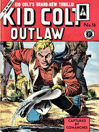 Cover Thumbnail for Kid Colt Outlaw (Thorpe & Porter, 1950 series) #56