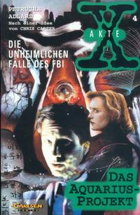 Cover Thumbnail for Akte X (Carlsen Comics [DE], 1996 series) #4