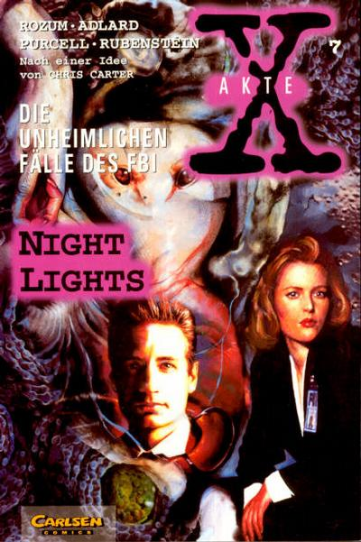 Cover for Akte X (Carlsen Comics [DE], 1996 series) #7