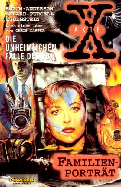 Cover for Akte X (Carlsen Comics [DE], 1996 series) #8
