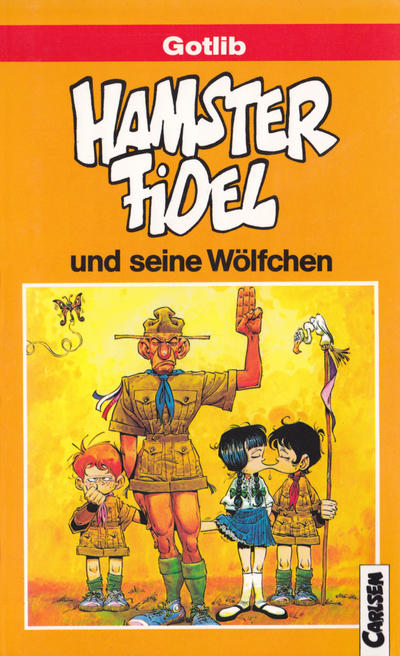 Cover for Carlsen Pocket (Carlsen Comics [DE], 1990 series) #29 - Hamster Fidel und seine Wölfchen